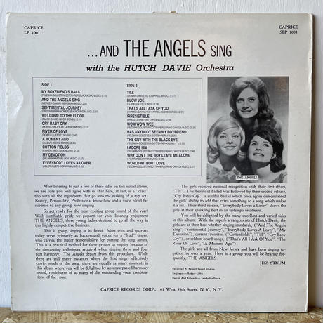 THE ANGELS / And The Angels Sing