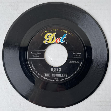 THE RUMBLERS / I Don't Need You No More