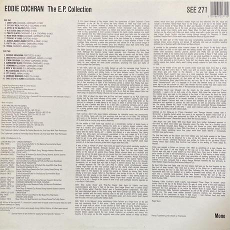 EDDIE COCHRAN / The EP Collection