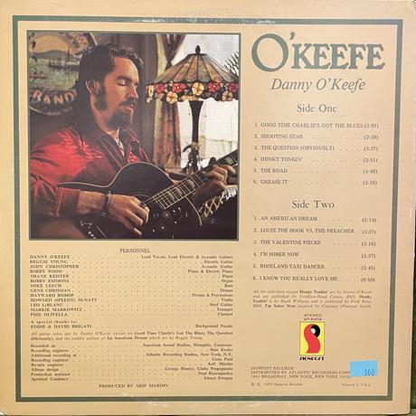 DANNY O'KEEFE / O'keefe