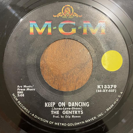 THE GENTRYS / Keep On Dancing