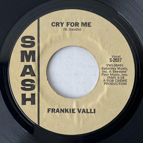 FRANKIE VALLI / You're Ready Now