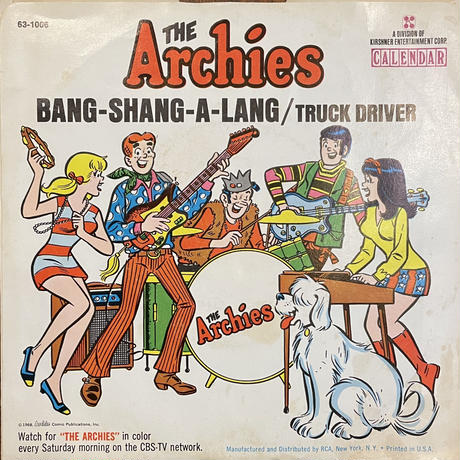 THE ARCHIES / Bang-Shang-A-Lang
