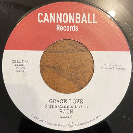 GRACE LOVE & THE CANNONBALLS / RAIN