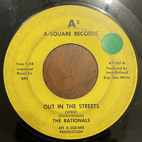 THE RATIONALS / Out In The Street