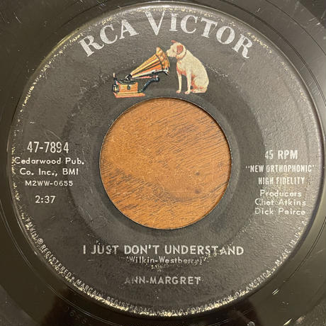 ANN-MARGRET / I JUST DON'T UNDERSTAND  / I DON'T HURT ANYMORE