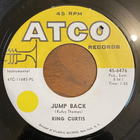 KING CURTIS / Jump Back