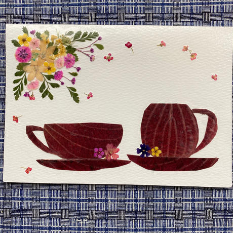 TEA FOR TWO(2つ折り/封筒付)