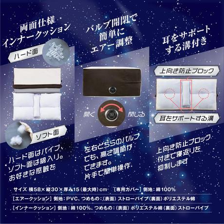 【お試し】サイレントナイトピローⅡ いびき博士・池松亮子先生監修横向き寝専用枕(360145000)