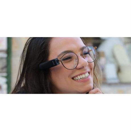 【ご自宅試着】眼鏡につけるだけで文字や色を読み上げてくれる視覚支援機器「オーカム マイアイ2」(活字読み上げ + 物体認識機能)201143060