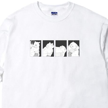 のし餅への道Tシャツ