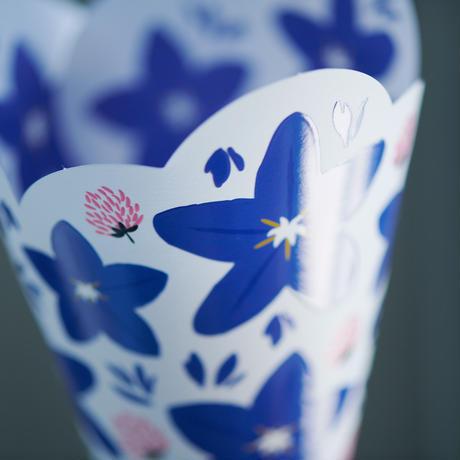 Balloon flower 桔梗 / Globe amaranth センニチコウ