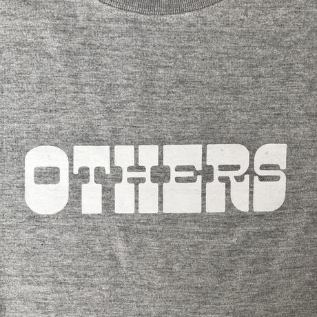 """OTHERS:""""LOGO S/S T-SHIRT"""" (GRAY)"""