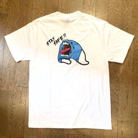 "DON'T WORRY LOSER:""SCREAMING MASK S/S TEE"" (OFF)"