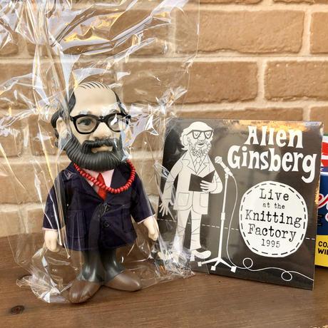 アレン・ギンズバーグ・ソフビ人形+ CD BOX set