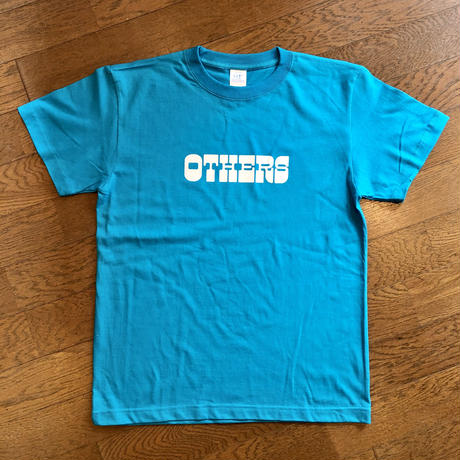 """OTHERS:""""LOGO S/S T-SHIRT"""" (TURQUOISE)"""