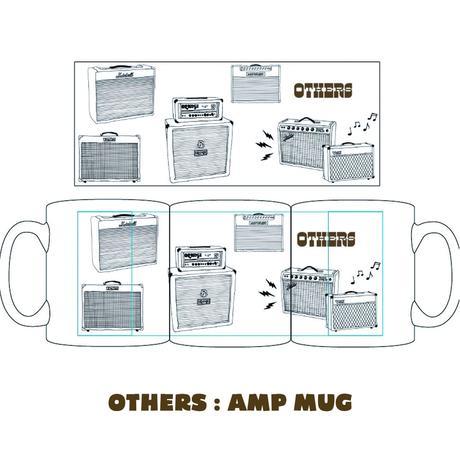 """OTHERS:""""AMP MUG""""(箱・ステッカー付)"""
