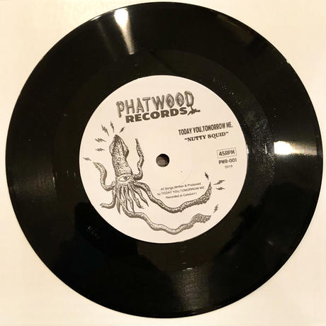 "TODAY YOU, TOMORROW ME.:NUTTY SQUID/13th DOOR (7"" Vinyl)"