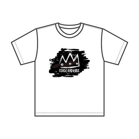 CROWN Tee S/S KIDZ-WHITE/BLACK