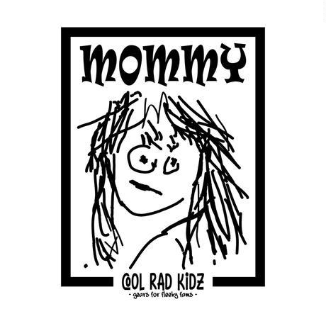 MOMMY GRAFFIC Tee S/S ADULT-WHITE