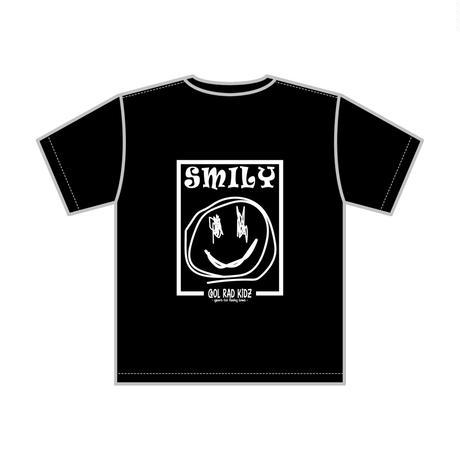 SMILY GRAFFIC Tee S/S KIDZ-BLACK