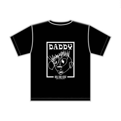 DADDY GRAFFIC Tee S/S KIDZ-BLACK