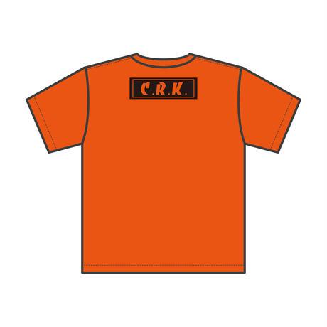 Basic Logo Tee S/S KIDZ-ORANGE