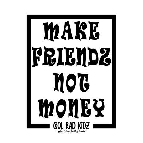 NOT MONEY Tee S/S ADULT-BLACK