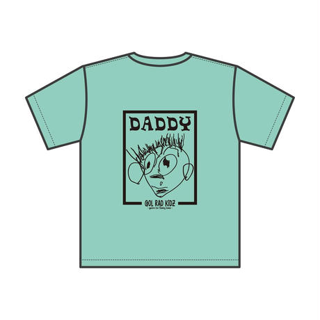 DADDY GRAFFIC Tee S/S KIDZ-MINTGREEN