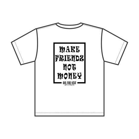 NOT MONEY Tee S/S KIDZ-WHITE