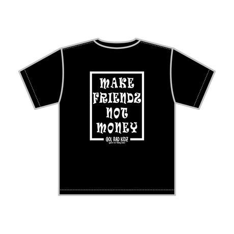 NOT MONEY Tee S/S KIDZ-BLACK