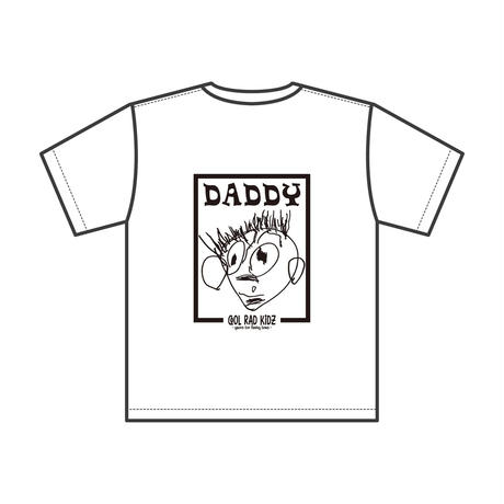DADDY GRAFFIC Tee S/S ADULT-WHITE
