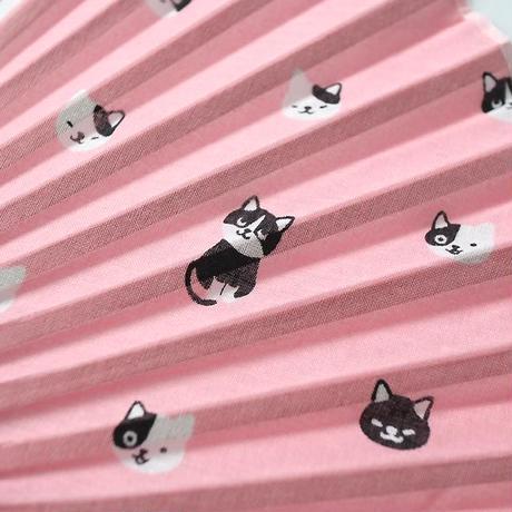 扇子・黒白猫(02-056)