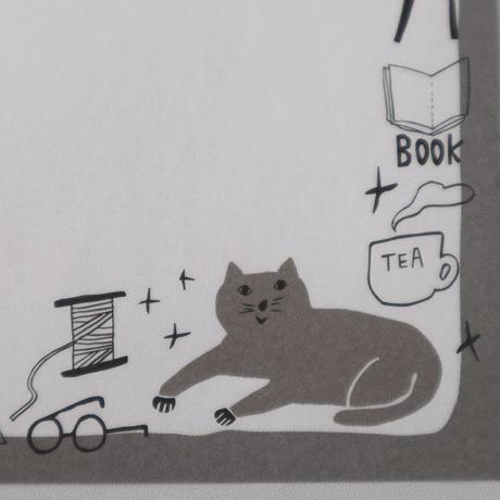 メモパッド・猫静かな時間(06-136)