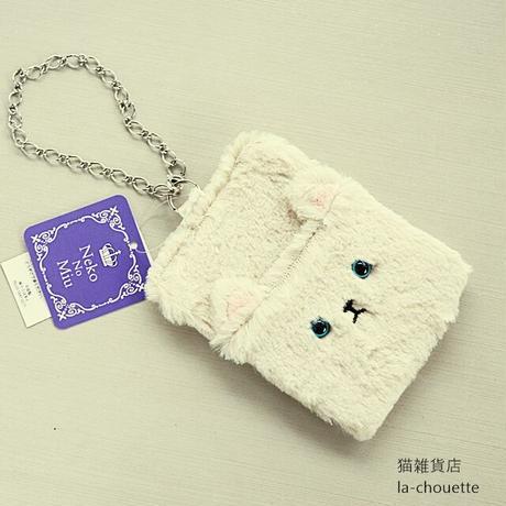ネコのミューパスケース(02-227)
