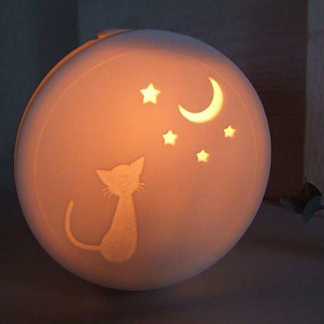 アロマコンセントライト・猫と月05-436)