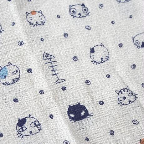 猫柄タオルてぬぐい(05-016)