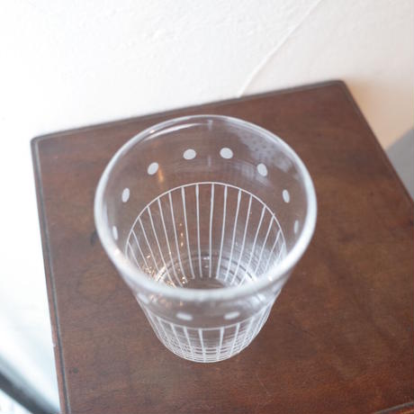 今井美智/IMAI Michi「透明な刺繍のグラス」