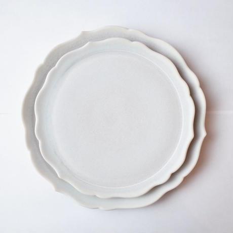 杉原万理江/SUGIHARA Marie「稜花四・五寸平皿」