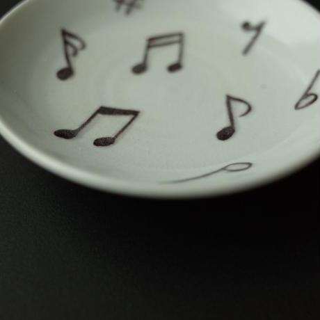 今江未央/IMAE Mio「九谷焼小皿 音楽」