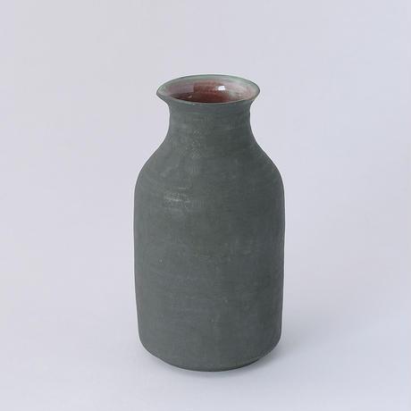 山﨑美和/YAMASAKI Miwa「黒×赤 徳利(2号)」