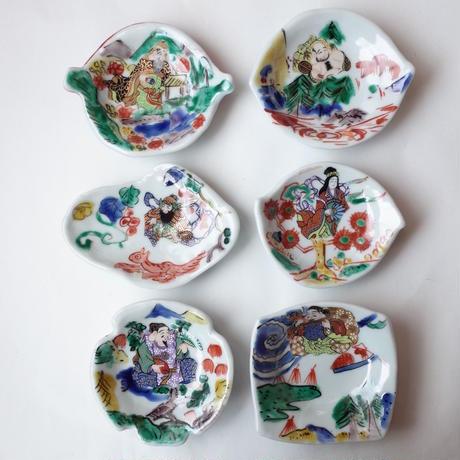 田辺京子/TANABE Kyoko「七福神豆皿」