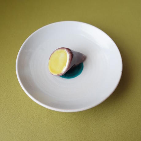 今江未央/IMAE Mio「九谷焼立体豆皿 果物と野菜」