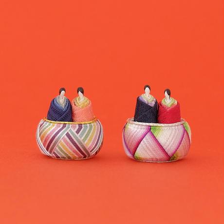 加賀てまり毬屋/Kaga-Temari Mariya「加賀ゆびぬき おひなさま」