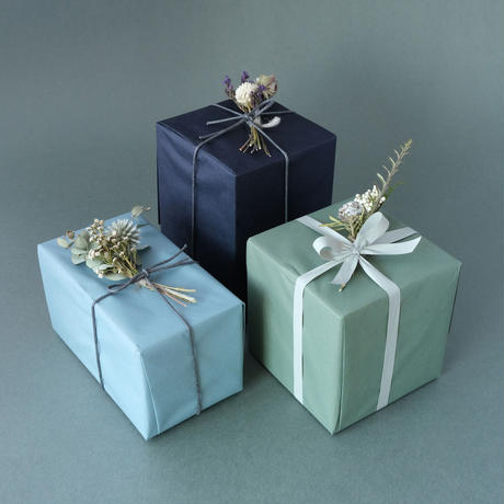 NOTE Flower/ノートフラワー「ドライフラワーのミニブーケ付き包装」