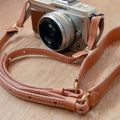 benlly's & job/ベンリーズ&ジョブ「レザーカメラストラップ mini」
