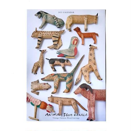 「ANIMALS FROM OAXACA」カレンダー 2021