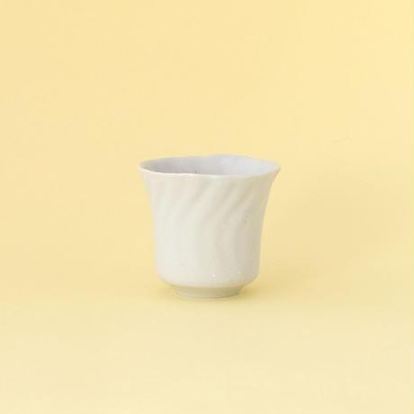 安齋新・厚子/ANZAI Arata & Atsuko「白磁ねじり杯」