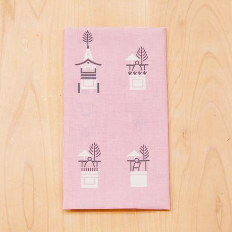 てぬぐい「山鉾」ピンク