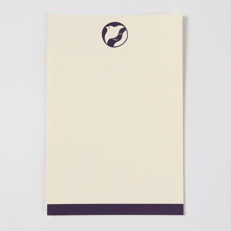 ポストカード(おとずれ堂ロゴ紫)